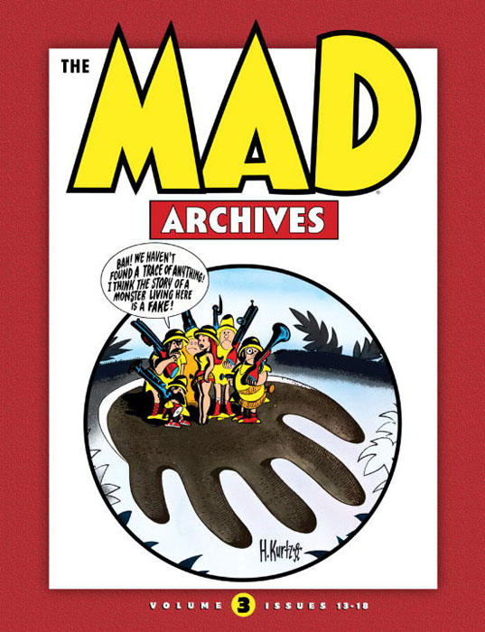 Mad archives vol 03 red mad зомфри блог глава 3
