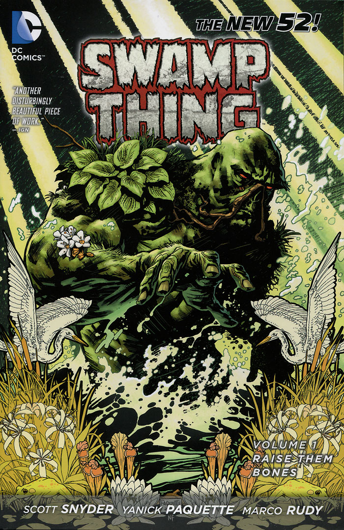 Swamp Thing: Volume 1: Raise Them Bones saga of the swamp thing book four