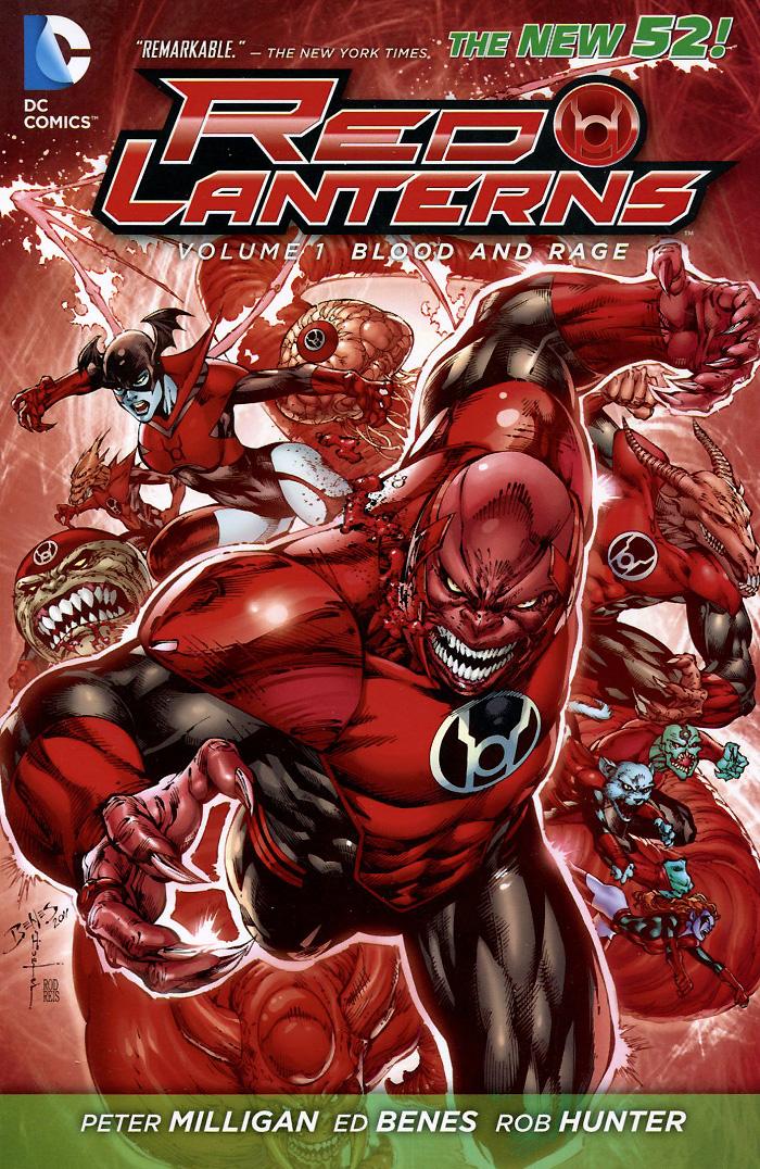 Red Lanterns: Volume 1: Blood and Rage  цена