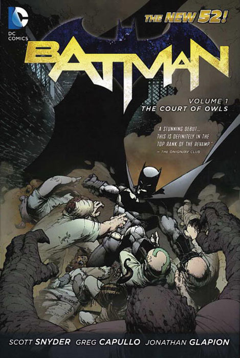 Batman: Volume 1: The Court of Owls batman volume 1 the court of owls