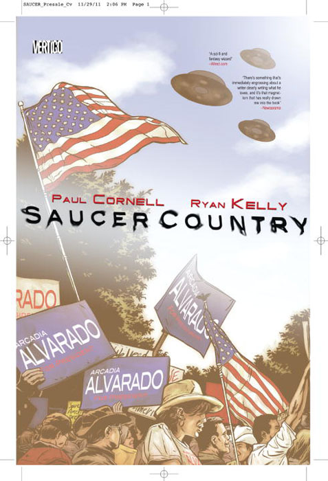 Saucer country vol 01 saucer state