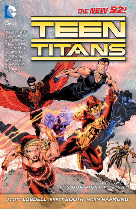 Teen Titans: Volume 1: It's Our Right to Fight teen titans earth one volume 2