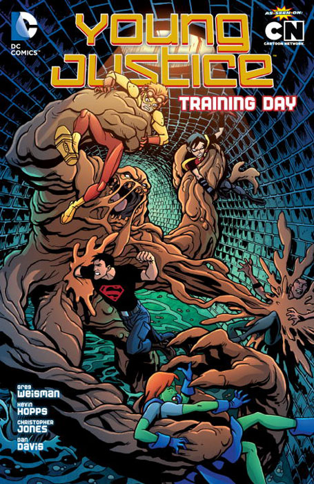 Young justice vol 02 training young justice vol 2 training day