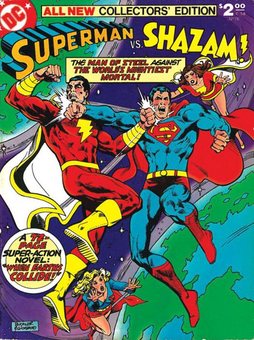 Superman vs shazam superman vs zod