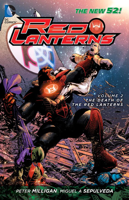 Red Lanterns: Volume 2: The Death of the Red Lanterns death of a civil servant