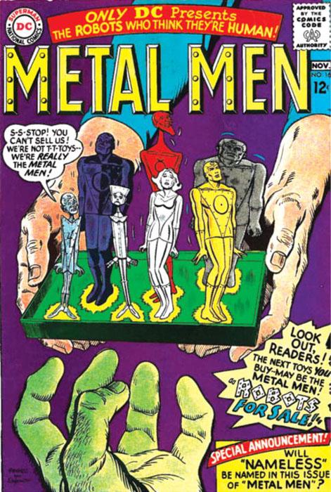 Metal men archives vol 02 scp atom vol 02