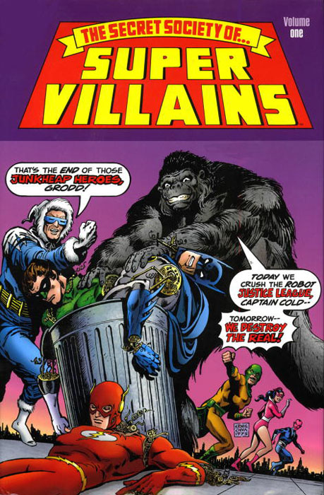Secret society villains vol 01 villains omnibus