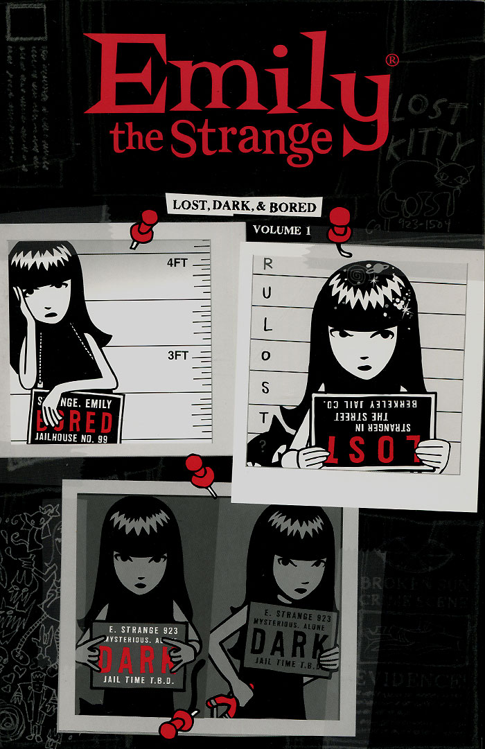 Emily The Strange: Volume 1: Lost, Dark and Bored emily d11a comfort 12c3