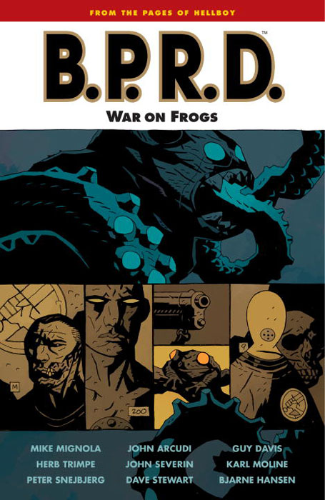 B.P.R.D.: War on Frogs: Volume 12 aristophanes the frogs