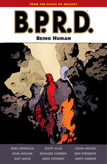 B.p.r.d.: being human being human the road