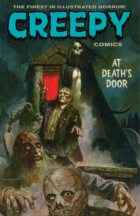 Creepy comics volume 2 spooky creepy boston