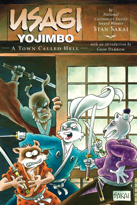 Usagi 27 a town called hell usagi yojimbo volume 31 the hell screen