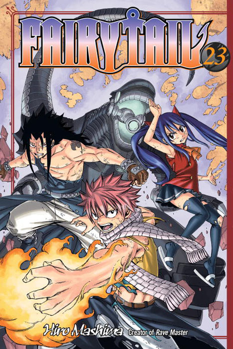 Fairy tail 23 fairy tail twin dragons of saber tooth