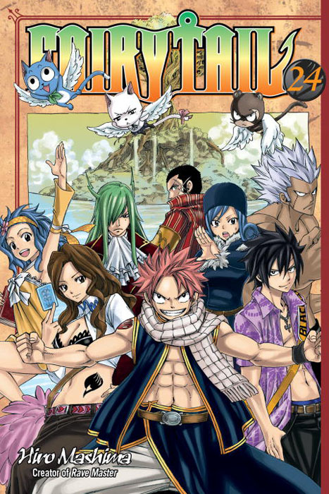 Fairy tail 24 fairy tail twin dragons of saber tooth