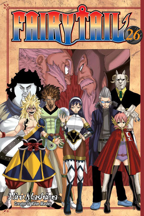 Fairy tail 26 fairy tail twin dragons of saber tooth