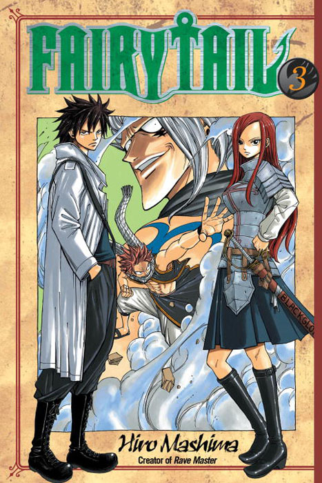 Fairy Tail: Volume 3 what she left
