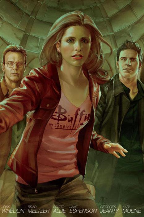 Buffy season 8 libr ed vol 4 ed rec vol x
