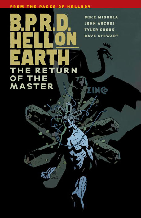 B.P.R.D. Hell on Earth: Volume 6: The Return of Master b p r d hell on earth volume 6 the return of the master