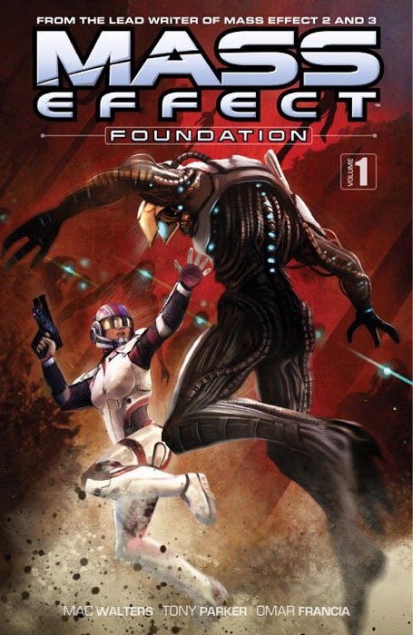Mass Effect: Foundation: Volume 1 mass effect universe