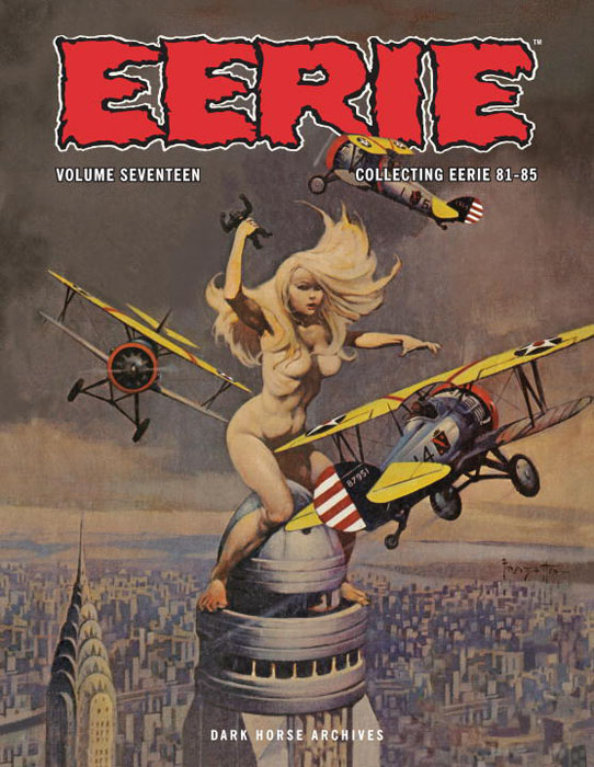 Eerie archives hc vol. 17 wonder woman archives vol 7