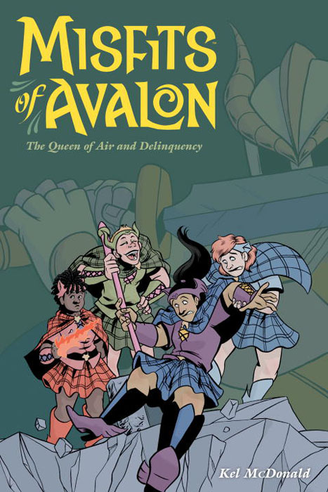Misfits of avalon vol. 1 crusade vol 3 the master of machines