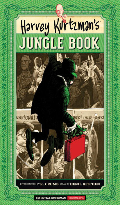 Harvey kurtzman's jungle book jungle book board book