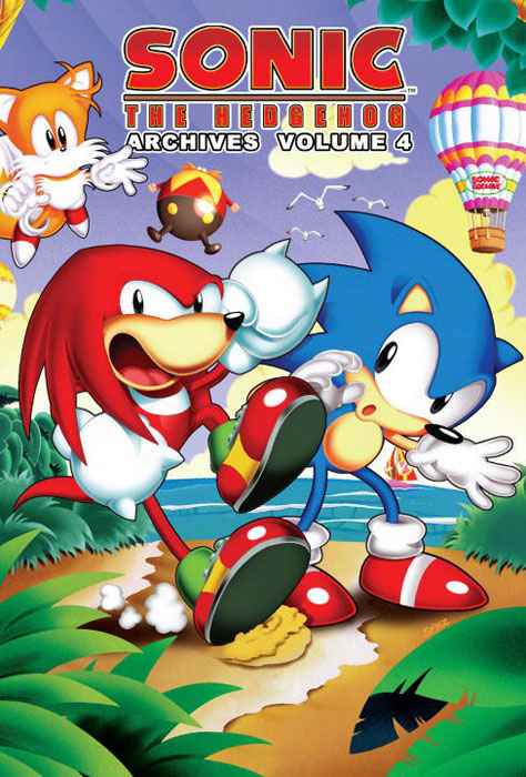 Sonic: The Hedgehog Archives: Volume 4