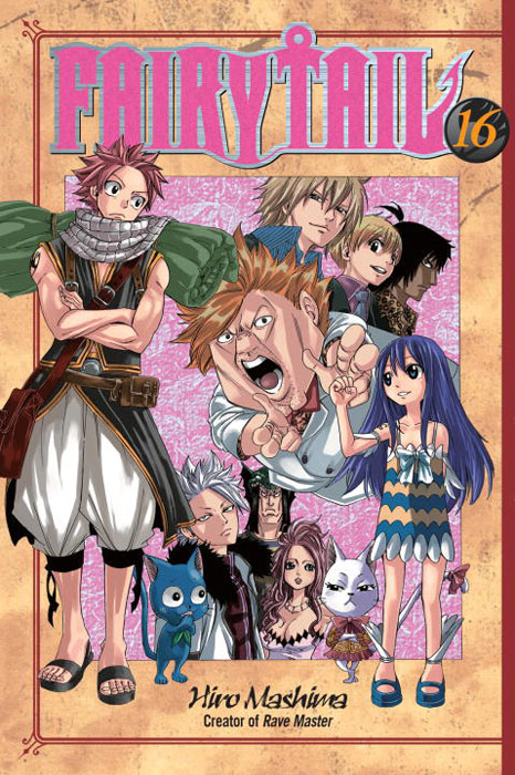 Fairy tail 16 fairy tail twin dragons of saber tooth