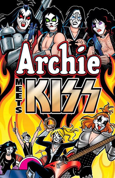 Archie meets kiss комплект роликов archie профиль 2м