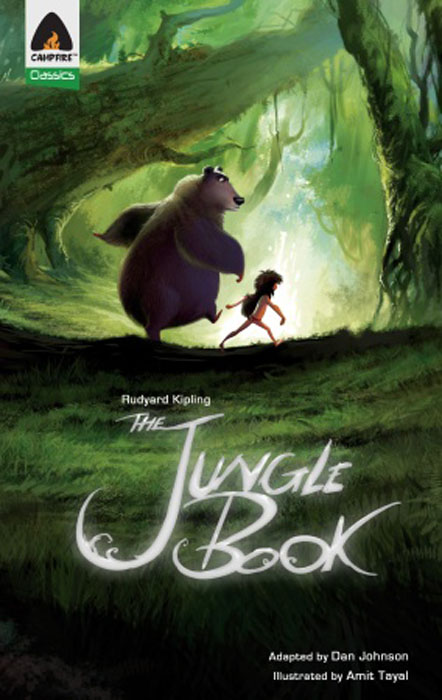 Jungle book, the walking through the jungle