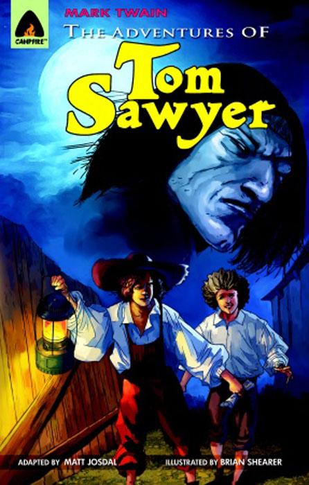 Adventures of tom sawyer, the твен м the adventures of tom sawyer приключения тома сойера