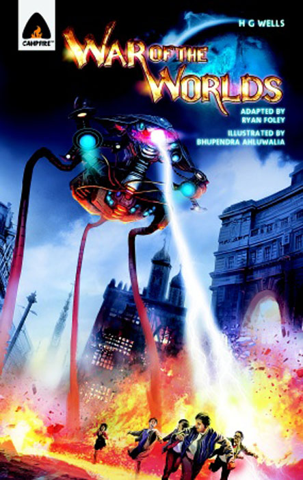 War of the worlds, the h g wells the war of the worlds
