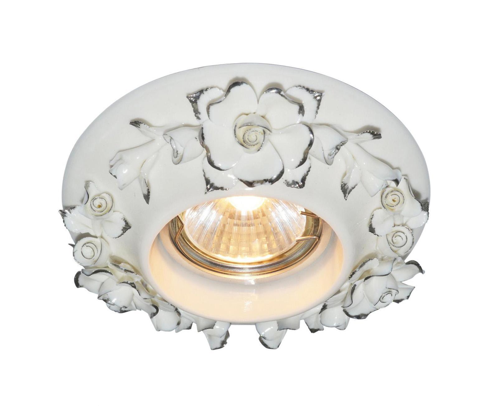 A5260PL-1SA FRAGILE Встраиваемый светильникA5260PL-1SA1x50W; патроны GU10 и G5,3 в комплекте Материал: Арматура: КерамикаРазмер: 120x120x55Цвет: Античное серебро