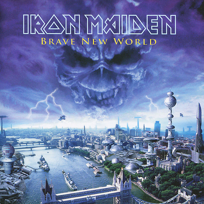 Iron Maiden Iron Maiden. Brave new World шапка унисекс с полной запечаткой printio шапка iron maiden eddie storm brave new world
