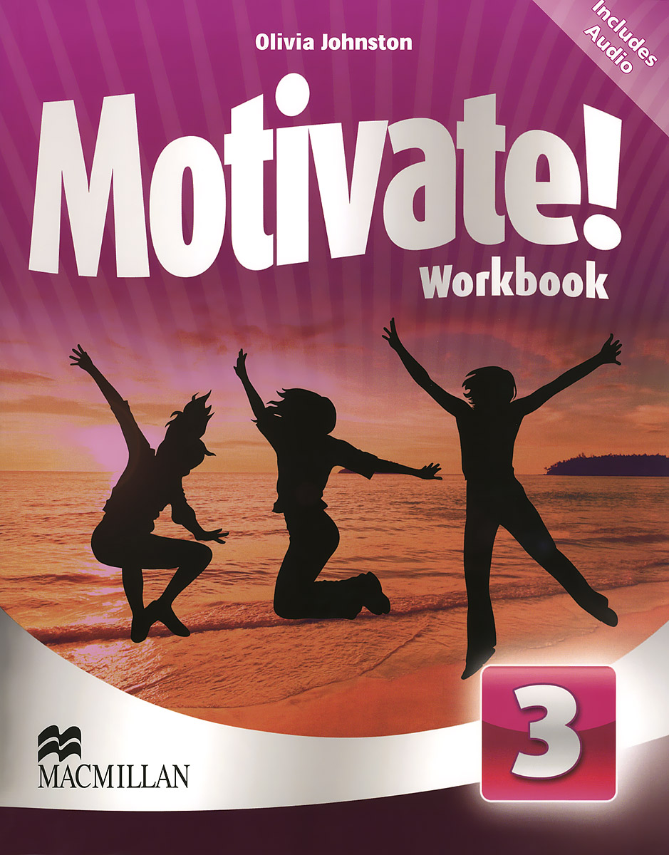 Motivate! Level 3: Workbook (+ 2 CD) american more level 3 workbook with audio cd