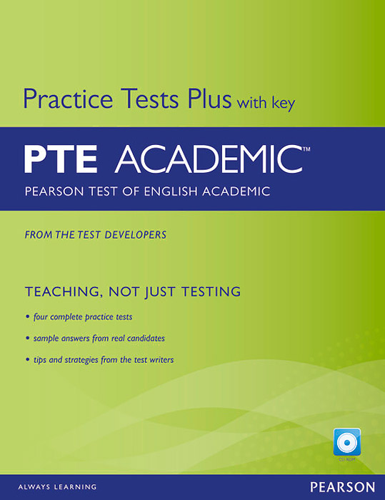 Pearson Test of English Academic: Practice Tests Plus with Key (+ CD-ROM) gray e practice tests for the prelliminary english test teacher s book