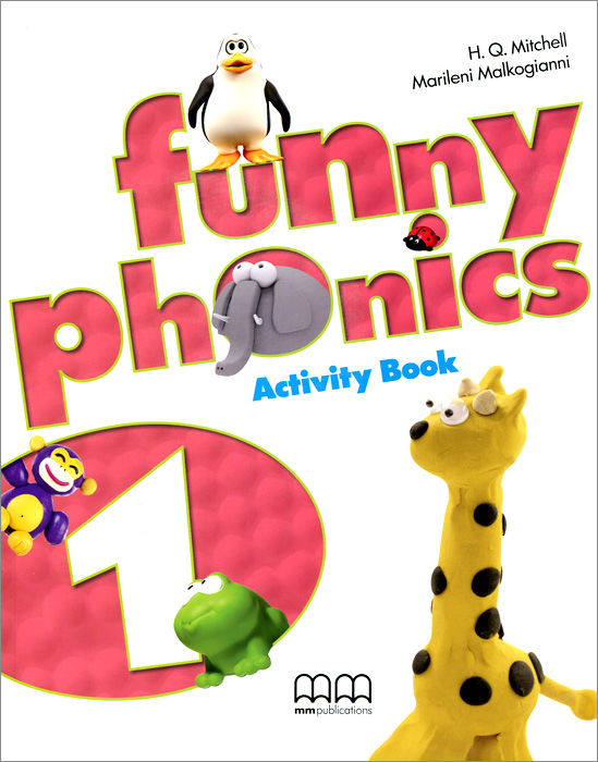 Funny Phonics 1: Activity Book (+ CD-ROM)