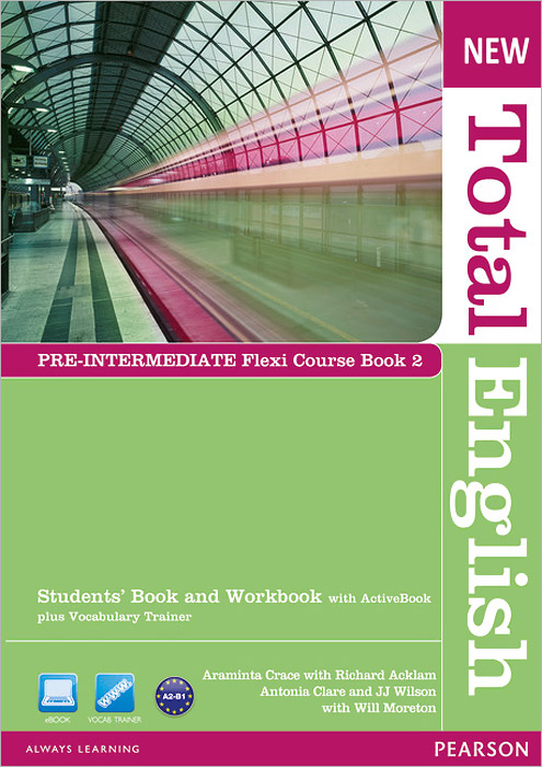 New Total English: Pre-Intermediate: Flexi Course Book 2: Students' Book and Workbook with Active Book plus Vocabulary Trainer (+ DVD-ROM) total english pre intermediate students book dvd rom