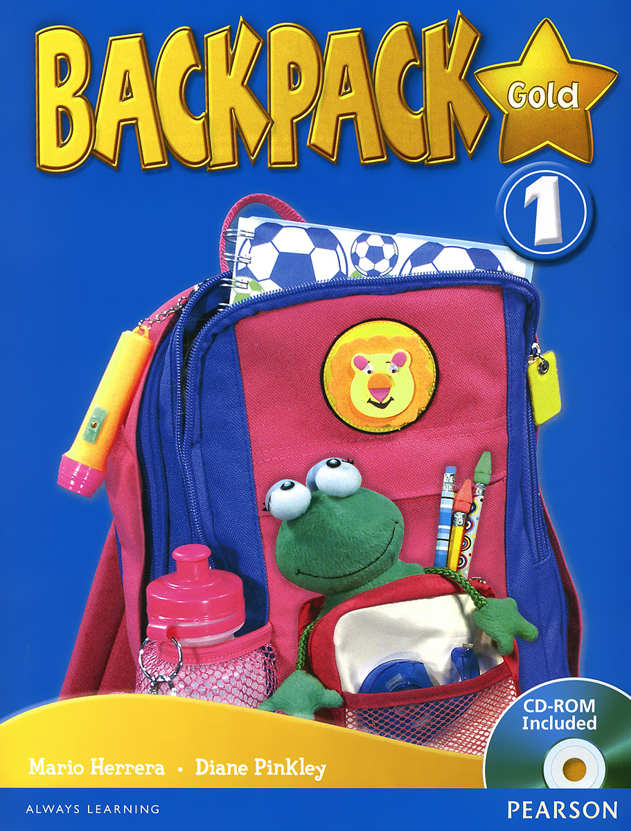 Backpack Gold 1: Student Book (+ CD-ROM) new eli picture dictionary cd rom german