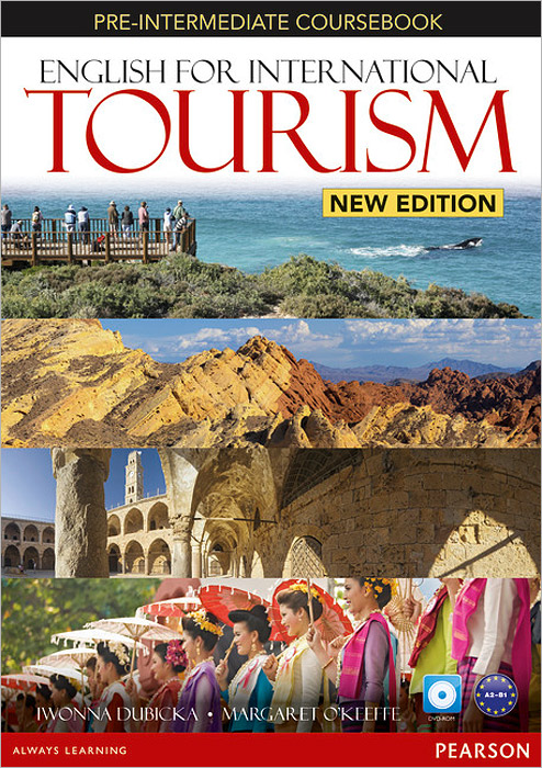 English for International Tourism Pre-Intermediate (+ DVD-ROM) english for international tourism upper intermediate coursebook dvd rom