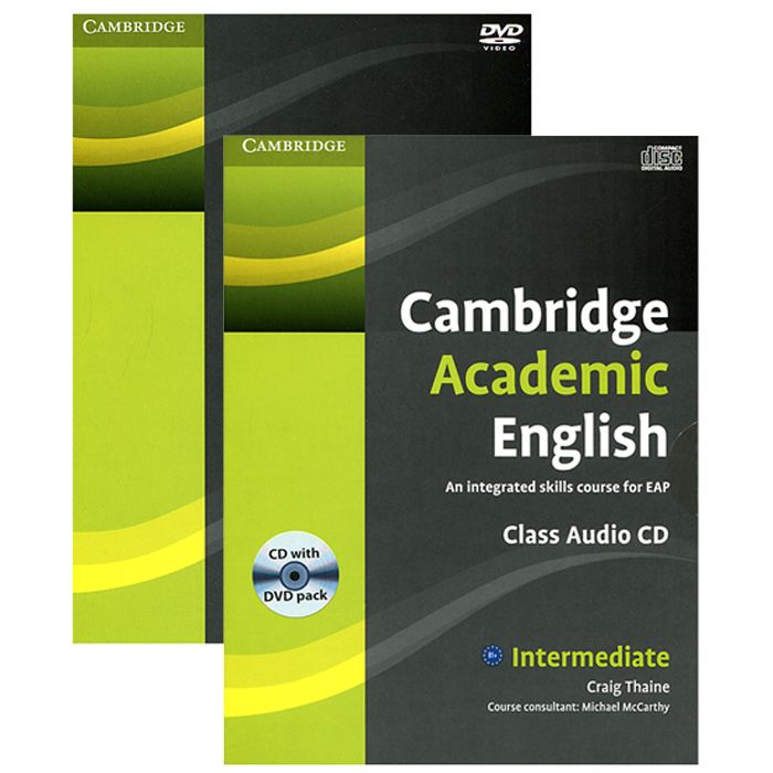 Cambridge Academic English: An Integrated Skills Course for EAP (аудиокурс CD + DVD) lower class brats this is real dvd cd