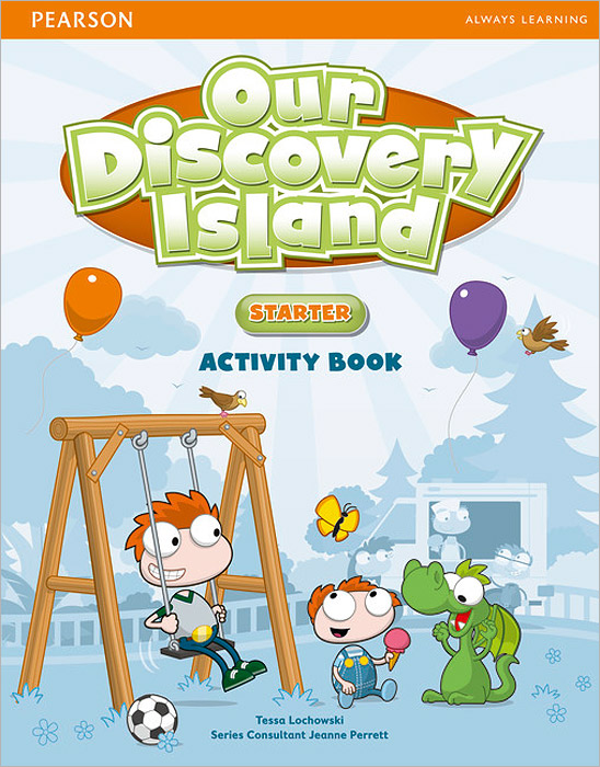 Our Discovery Island: Starter: Activity Book (+ CD-ROM) blue fins starter level cd rom