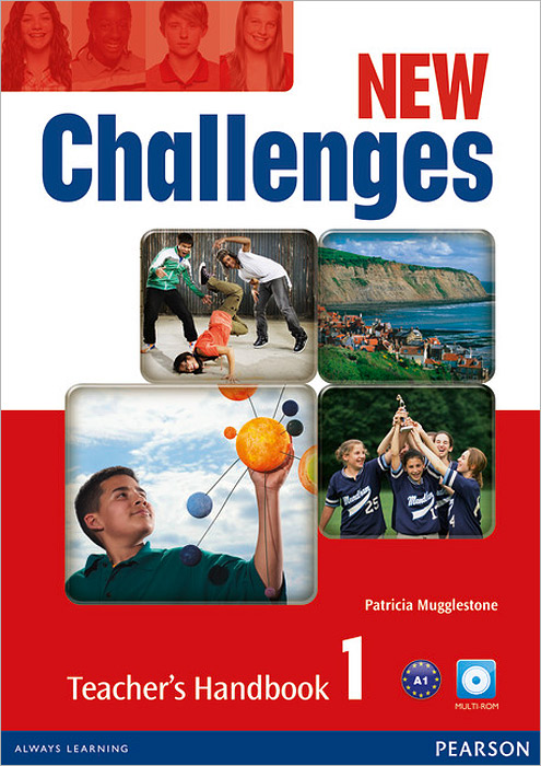 New Challenges 1: Teacher's Handbook (+ CD-ROM) женская футболка hic worldcup t 1 hic 3498