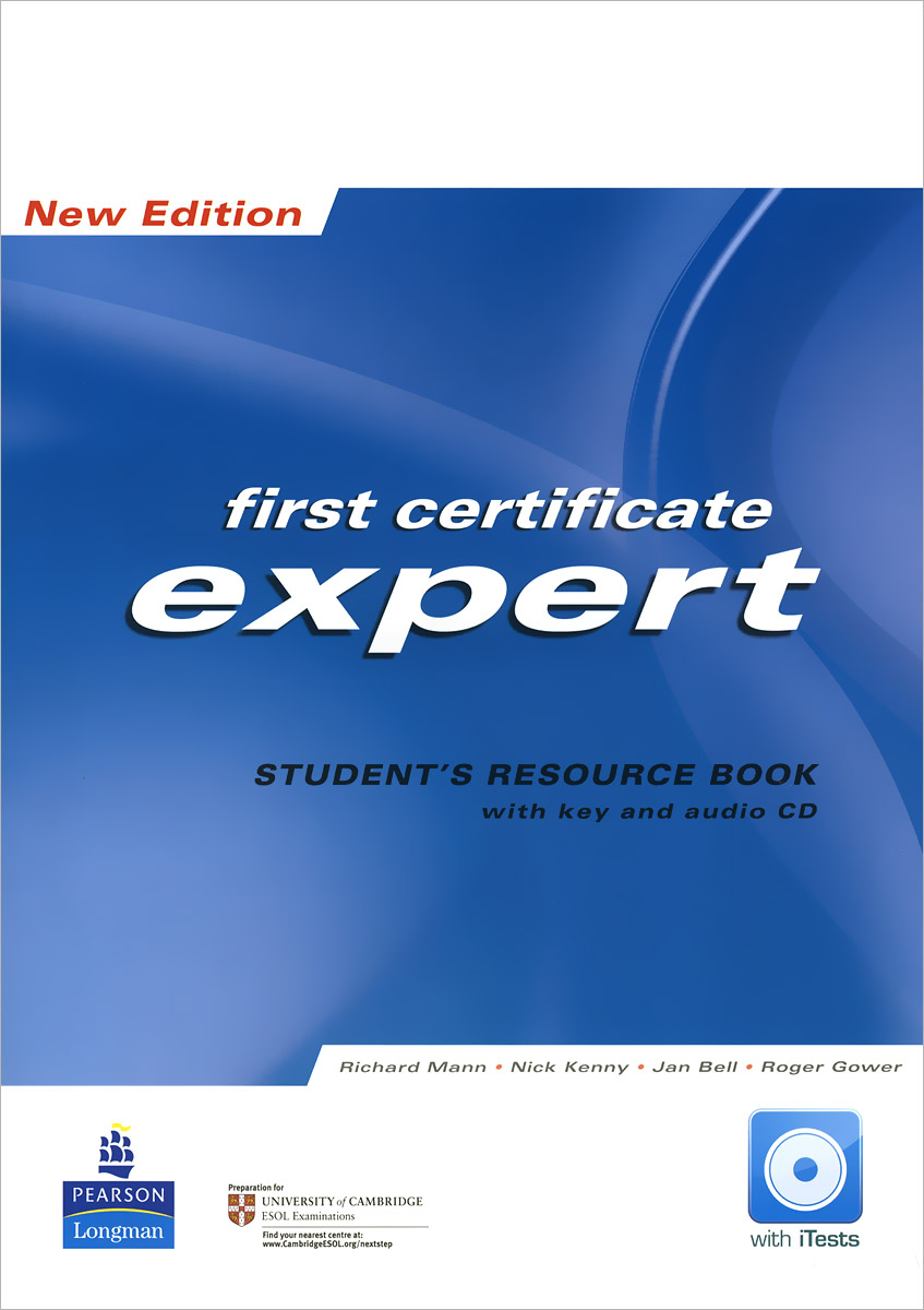 First Certificate Expert: Students Resource Book (+ аудиокурс на CD) gold first coursebook