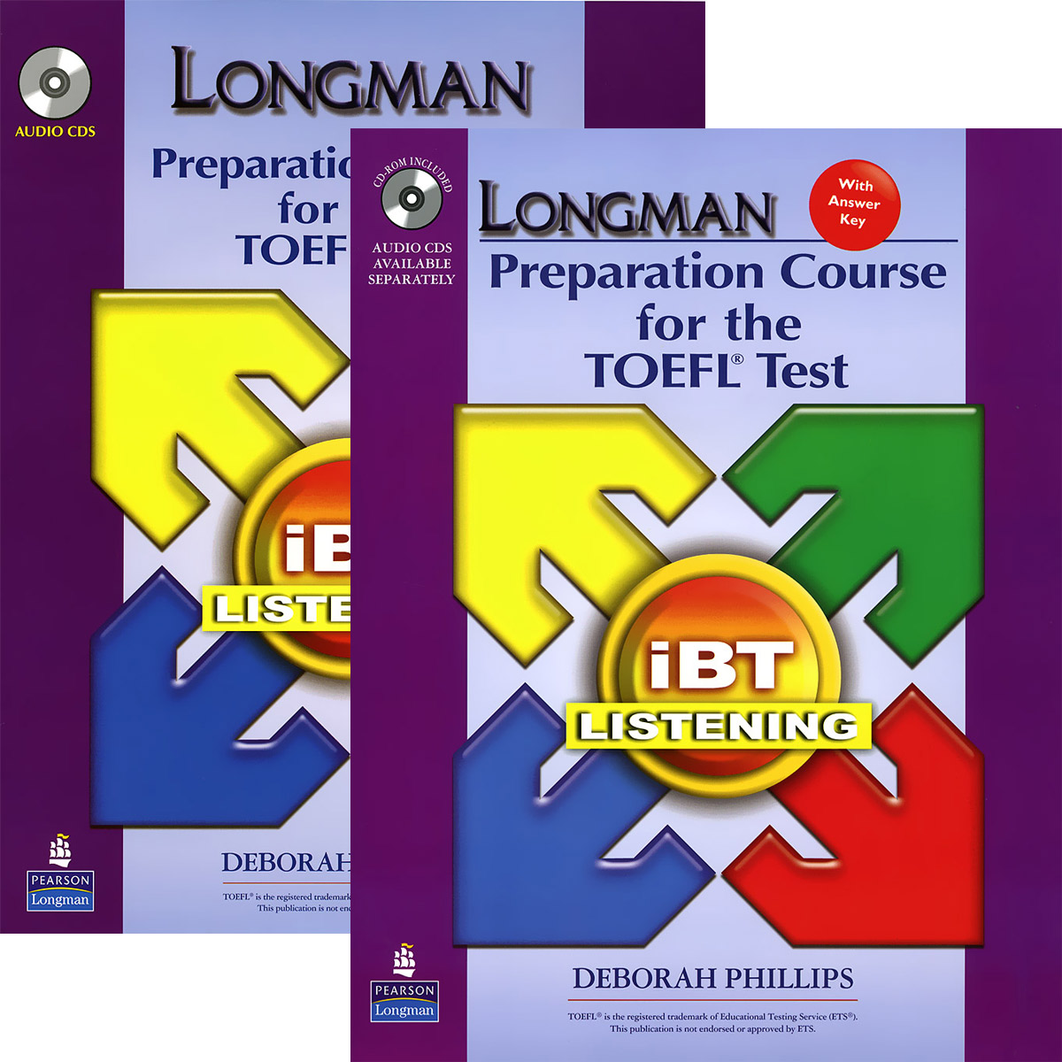 Longman Preparation Course for the TOEFL Test: iBT Listening (аудиокурс на 6 CD) longman introductory course for the toefl test the paper test audio cds