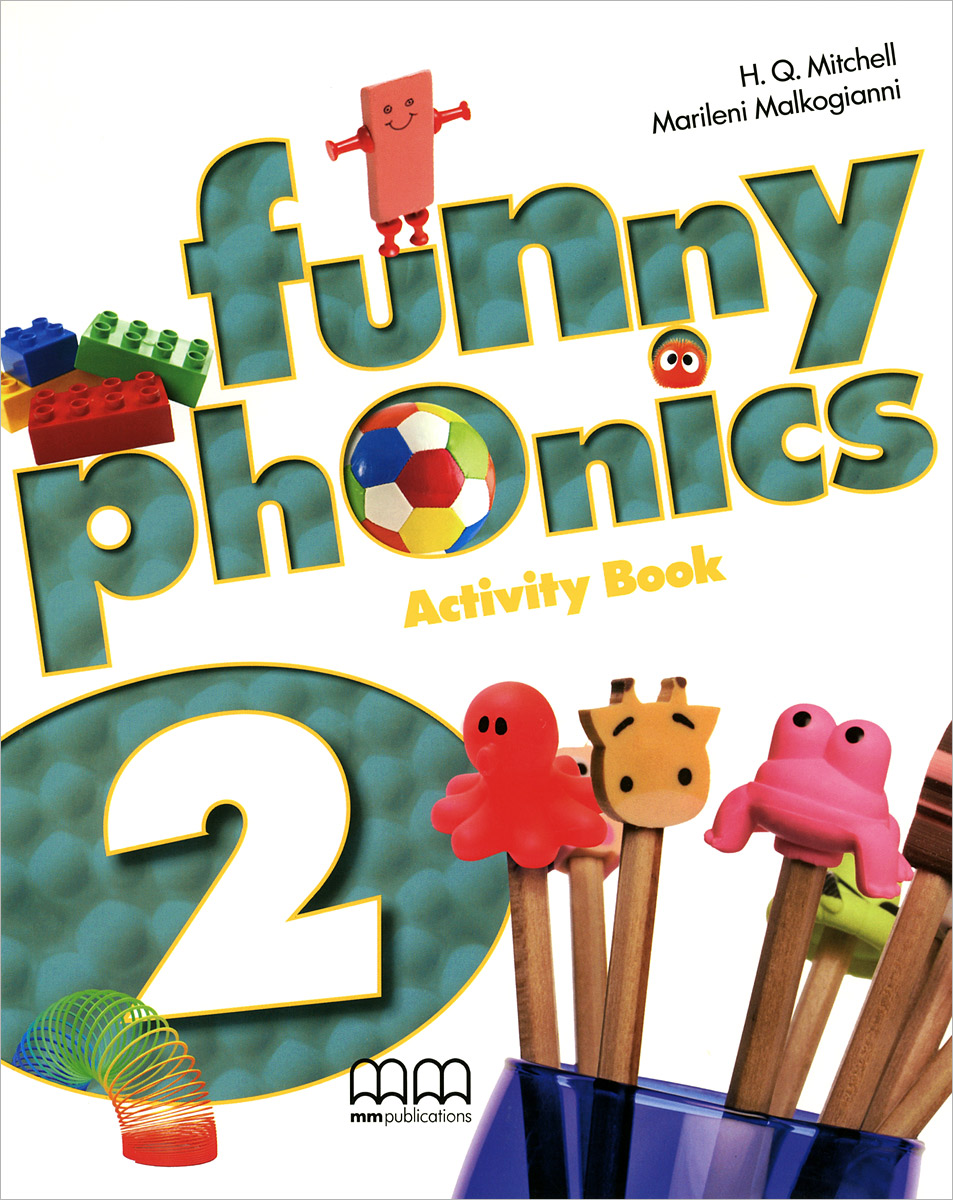 Funny Phonics 2: Activity Book (+ CD-ROM)