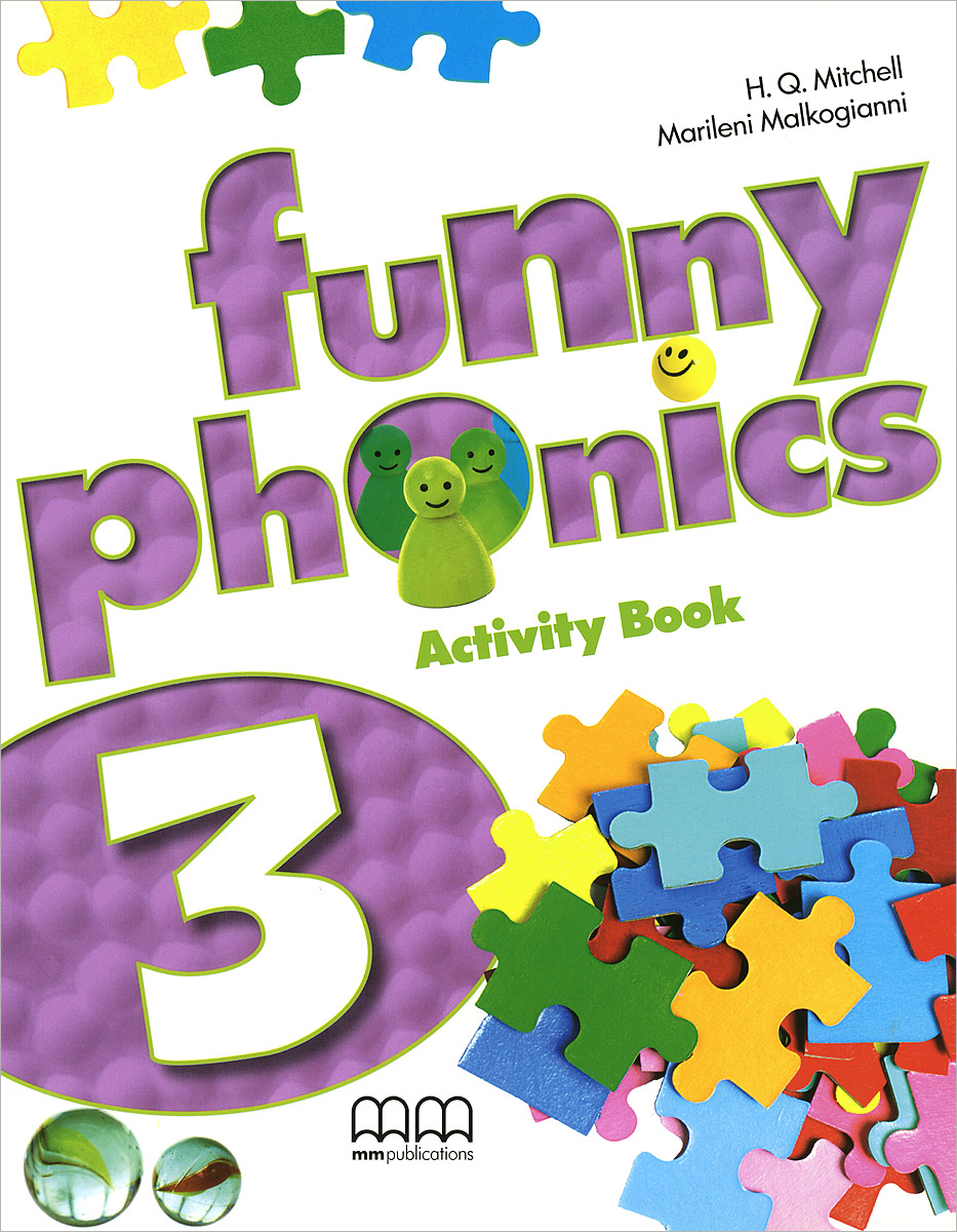 Funny Phonics 3: Activity Book (+ CD-ROM)
