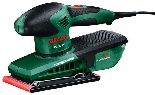 Шлифмашина Bosch PSS 200 AC (0603340120) вибрационная шлифовальная машина bosch pss 200 ac 0603340120