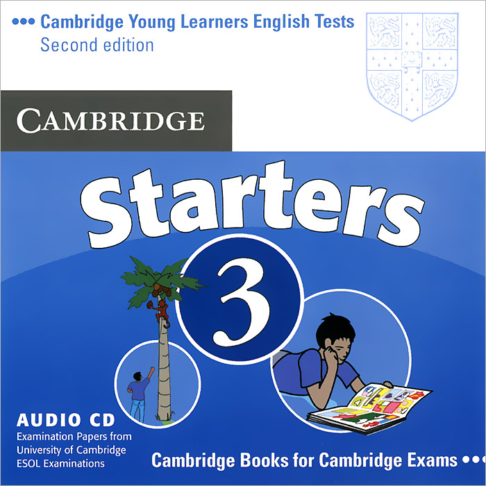 Cambridge Starters 3 (аудиокурс CD) cambridge key english test 3 examination papers from university of cambridge esol examinations