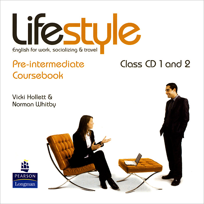 Lifestyle Pre-Intermediate Coursebook Аудиокурс на 2 CD